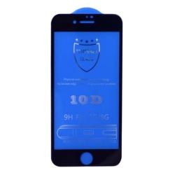 3D tvrzené sklo pro iPhone 6, 6s, 7 a 8 - černá barva
