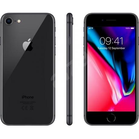 iPhone 8 64 GB - barva černá - kategorie B+