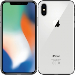 iPhone X 64 GB - barva stříbrná - kategorie A